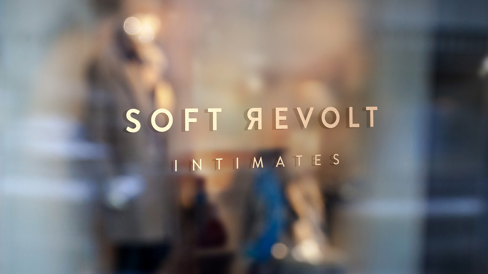 A clean and sustainable brand identity for lingerie company Soft Revolt by Haelsum