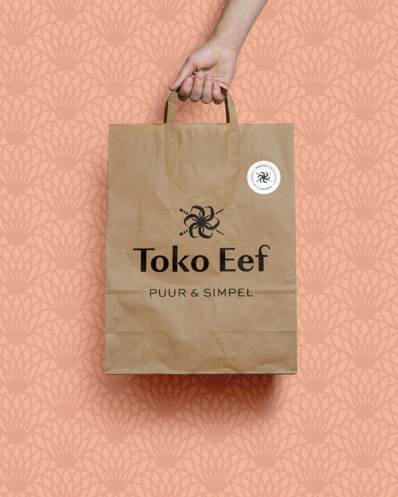 A pure brand for healthy and honest Asian street food restaurant Toko Eef by Haelsum